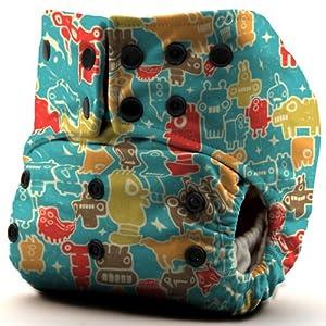GoGreen Champ® One-Size Cloth Diaper (R2D-Poo)