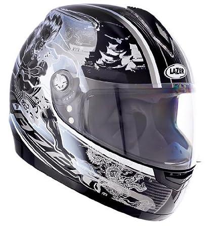 1201431001XS lazer casque de moto vertigo raijin taille xS (noir/gris)