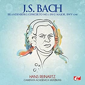 Brandenburg Concerto No. 3 in G Major, BWV 1048: Allegro moderato