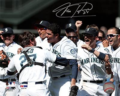 Felix Hernandez Seattle Mariners Autographed 8x10 Photo #1 Great Game - PSA/DNA Authentic