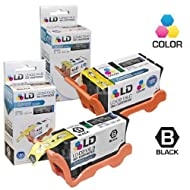 Dell LD Compatible Set Of 2-Series 22 High Yield Black & Color Ink Cartridges For The P513w V313 V313w Printers...