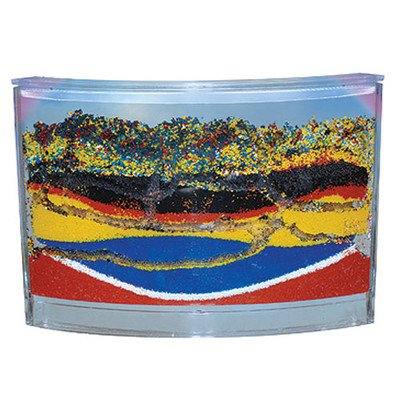 Ant Habitat - Rainbow Ant Farm With Colored Sands And Live Ant Coupon Included