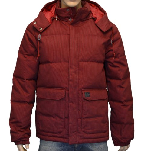 90a6825cd540 Nike 6.0 Men s Choreman Down Fill Snowboard Winter Jacket Coat - Red-Medium