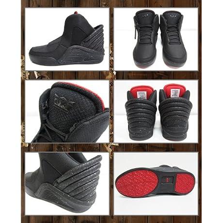 (スープラ) SUPRA キメラ CHIMERA スニーカー 靴 メンズ ブラック レッド BLACK RED 黒 赤 9H