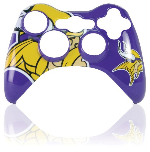 Xbox 360 Official NFL Minnesota Vikings Controller Faceplate