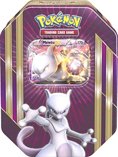 Pokemon Scatola metallica 55Mewtwo, lilla, in tedesco