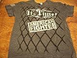 AMERICAN FIGHTER BRUCE BUFFER WOMENS MMA SHIRT SIZE MEDIUM