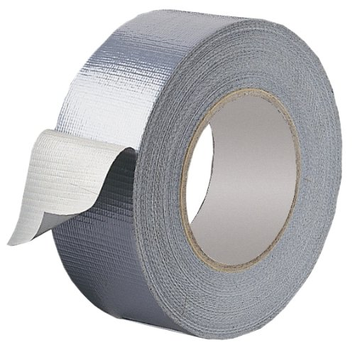 1 Roll Gaffer tape Silver 48mm x 50m gaffa duct duck packing cloth book binding