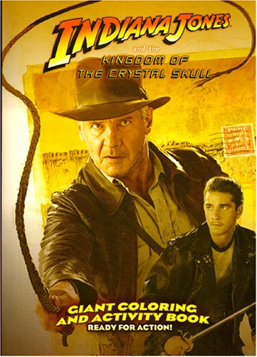 Indiana Jones Giant Coloring and Activity Book ~ Ready For Action! - 1