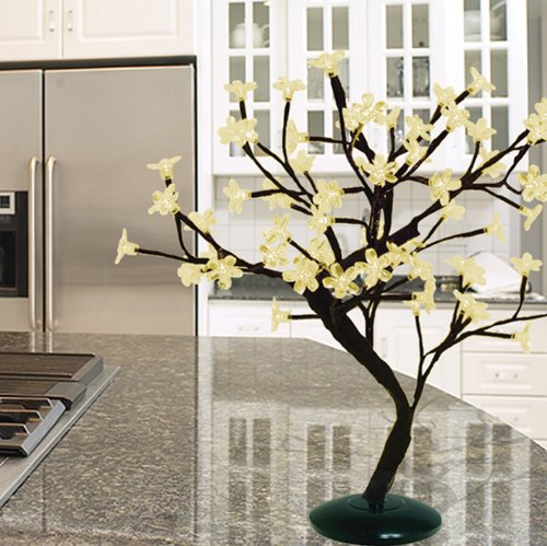 Sterling 92411045 18-Inch Battery Operated Led Bonsai Tree, Warm White