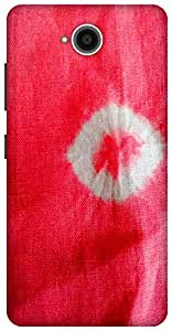 The Racoon Lean printed designer hard back mobile phone case cover for Microsoft Lumia 650. (pink)