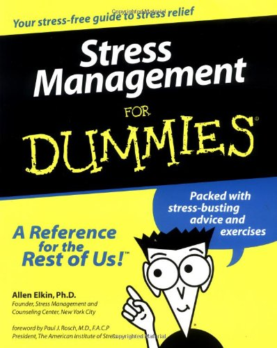 Stress Management For Dummies front-637331