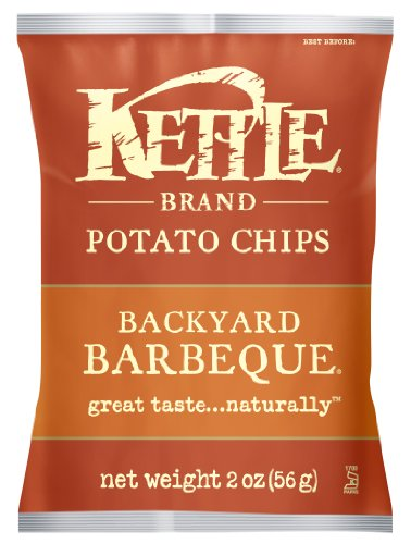 Kettle Brand Chips, Backyard Bbq, 2-Ounces (Pack Of 24)