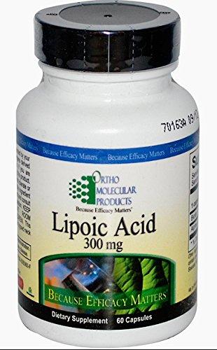 Ortho Molecular Products, Lipoic Acid, 300 Mg, 60 Capsules