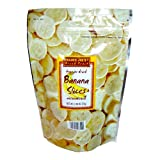 Trader Joes Freeze Dried Banana Slices Unsweetened 2.46oz