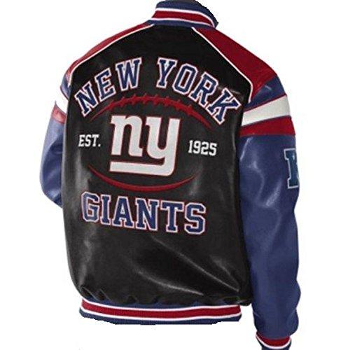 Ny giants leather jacket