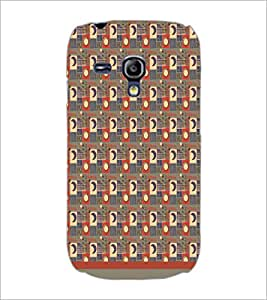 PrintDhaba Sun Moon Pattern D-1495 Back Case Cover for SAMSUNG GALAXY S3 MINI (Multi-Coloured)