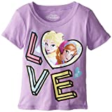 Extreme Concepts Little Girls' Frozen Singing Love T-Shirt