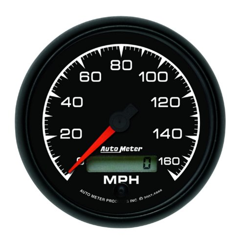 "Auto Meter 5988 Es 3-3/8"" 160 Mph In-Dash Speedometer Electric Programmable Gauge"