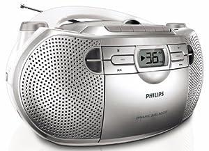 Philips AZ1027/12 Radio K7 / CD Tuner analogique 2 x 1 W