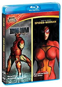 Marvel Knights: Iron Man & Spider Woman [Blu-ray]