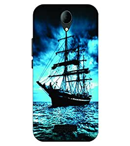 Voodoo Printed Back Cover For Micromax Canvas Pace 4G Q416