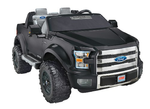 Power Wheels Boys Ford F-150 - Black