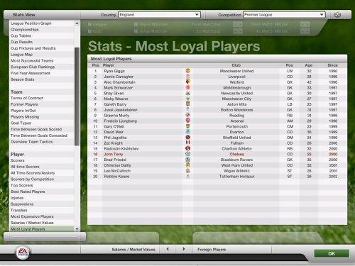 FIFA Manager 07  screenshot
