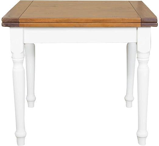 TABLE TILLEUL MASSIF 90 X 90 X 80 CM