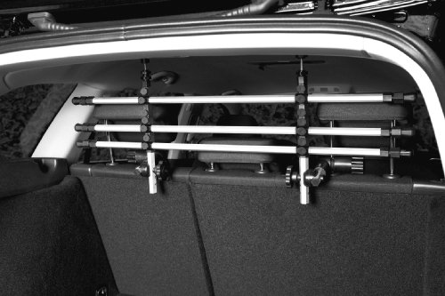 Trixie-13171-Auto-Schutzgitter-silberschwarz