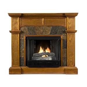 Sale Sei Cartwright Convertible Gel Fuel Fireplace Kji 58