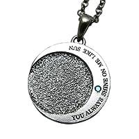 [クローストゥーミー] Close to me ネックレス Sun&Moon ブルーダイヤモンド YOU ALWAYS SHINE ON ME LIKE SUN(あなたは太陽のようにいつも輝いている) SN13-135