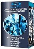 Image de Le jour d'après + Jumper + Die Hard 4 + I, Robot + Mirrors - Coffret Action 5 Blu-ray