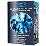 Le jour d'apr�s + Jumper + Die Hard 4 + I, Robot + Mirrors - Coffret Action 5 Blu-raypar Hayden Christensen