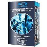 Le jour d'apr�s + Jumper + Die Hard 4 + I, Robot + Mirrors - Coffret Action 5 Blu-raypar Hayden Christensen