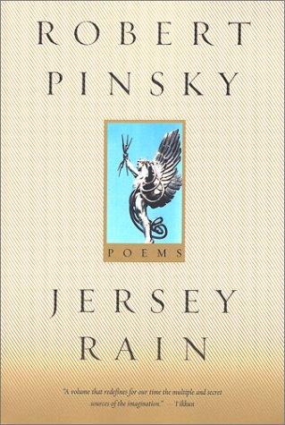 Jersey Rain, ROBERT PINSKY