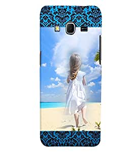 Fuson 3D Printed Girly Designer back case cover for Samsung Galaxy Core Prime G360H - D4156