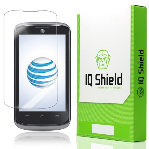 Iq Shield Liquidskin - Zte Sonata / Zte Radiant Screen Protector - High Definition (Hd) Ultra Clear Phone Smart Film - Premium Protective Screen Guard - Extremely Smooth / Self-Healing / Bubble-Free Shield - Kit Comes With Retail Packaging And 100% Lifeti