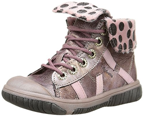Babybotte - Artiste2, Sneakers per bambine e ragazze, rosa (406 rose métallisé), 23