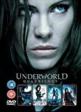 Underworld Complete All 4 Movies DVD Anthology Film Collection [4 Discs] Part 1, 2:Evolution 3:Rise of the Lycans, 4:Awakening + Extras