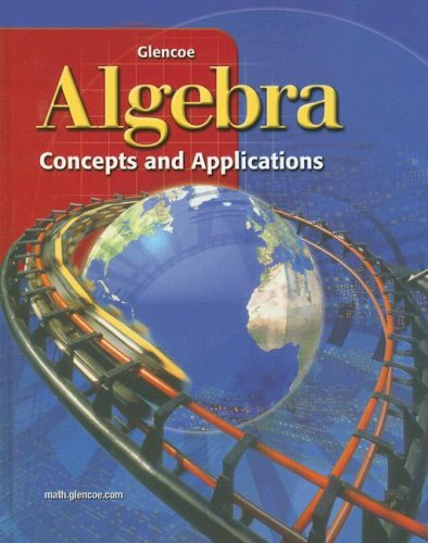 Algebra: Concepts and Applications