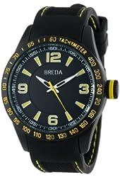Breda Men's Justin Rubber Watch