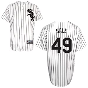 Chris Sale Chicago White Sox Home Replica Jersey by Majestic Select Size: XXX-Large by Majestic