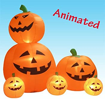 BZB Halloween Animated Pumpkins Decoration