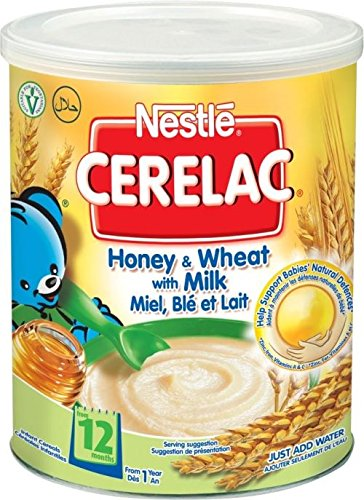 Nestle Cerelac Honey & Wheat With Milk 12Mth+ (400G)