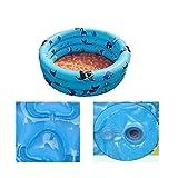 Inflatable Unique Non-slip Soft Safe Paddling Pool For Children Underwater(Blue)