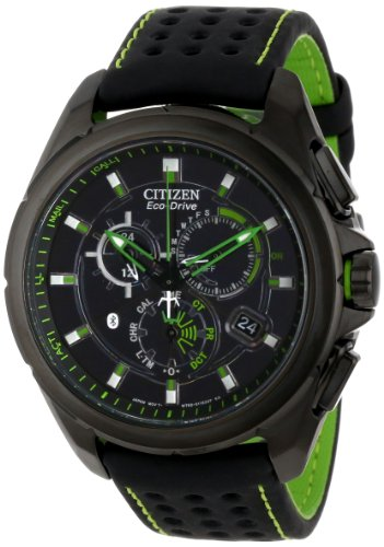 Citizen Men's AT7035-01E Proximity Eco-Drive Black Ion Plated Watch