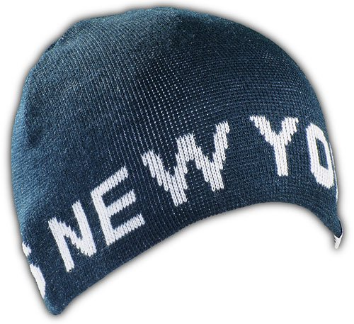 New York Yankees Beanie blue