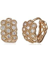 SIA Art Jewellery Clip-On Earrings For Women (Gold) (AZ3289)