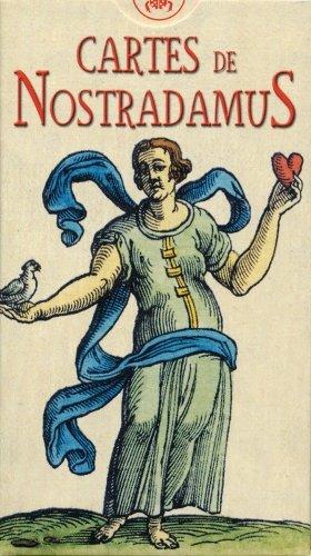 DG Diffusion - Jeu de cartes - Divinatoires - Cartes de Nostradamus - 78 Cartes